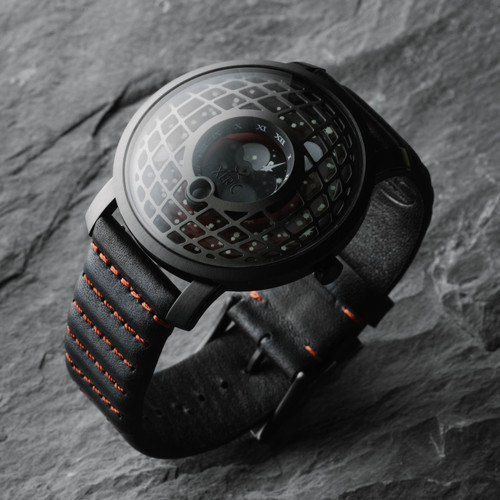 Xeric Trappist-1 Moonphase Gunmetal Red (TMP-3014)
