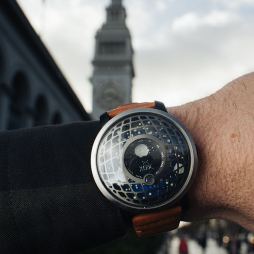Xeric Trappist-1 Moonphase Gunmetal Blue (TMP-3016)