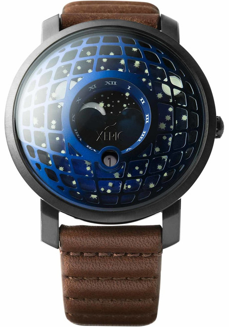 Xeric Trappist-1 Moonphase Blue IP (TMP-3019)