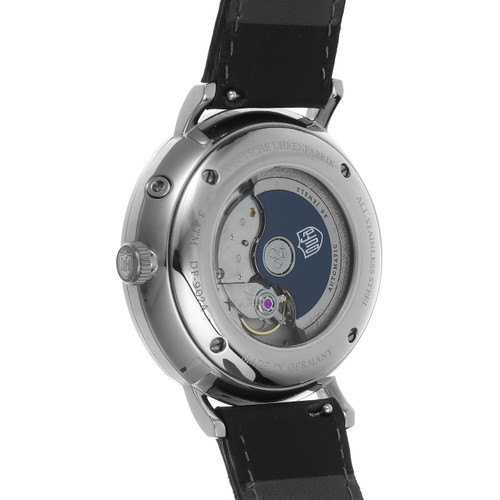 DuFa Aalto Automatic Power Reserve Silver Black (DF-9024-01)