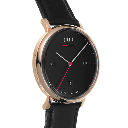 DuFa Aalto Automatic Power Reserve Rose Gold Black (DF-9024-04)