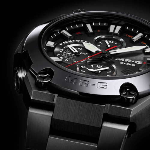G-Shock MR-G Connected Cobarion Black (MRGG2000CB-1A) bezel