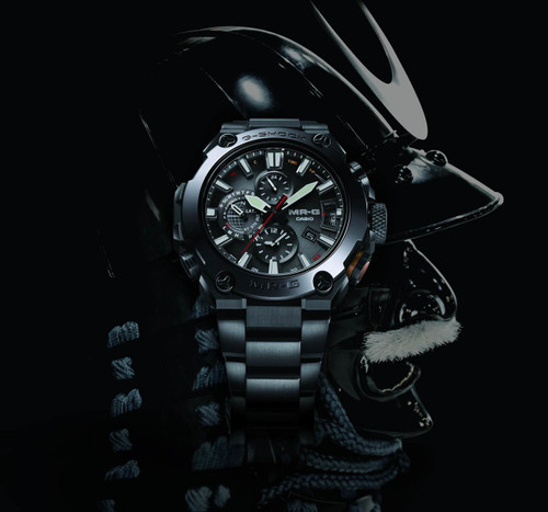 G-Shock MR-G Connected Cobarion Black (MRGG2000CB-1A) warrior