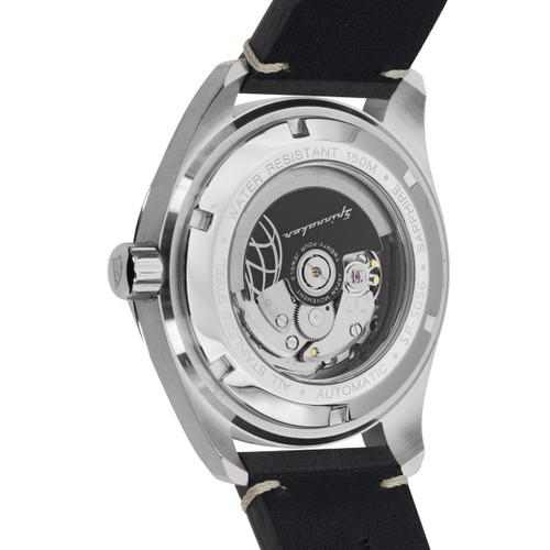 Spinnaker Fleuss Automatic Silver Black (SP-5056-01)