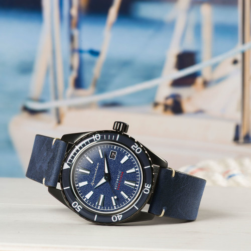Spinnaker Fleuss Automatic Blue (SP-5056-03)
