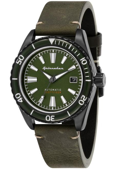 Spinnaker Fleuss Automatic Green (SP-5056-04)