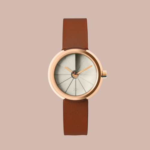 22 Design 4th Dimension 30mm Teatime Concrete Watch (CW05003)