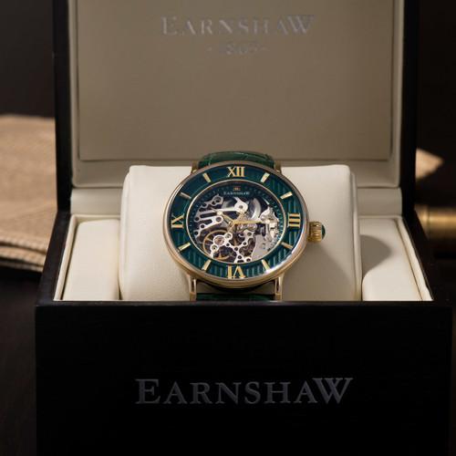 Thomas Earnshaw Darwin Automatic Gold Green (ES-8038-06)