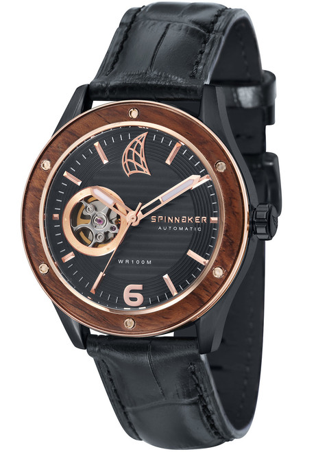 Spinnaker Sorrento Automatic Black (SP-5034-04)