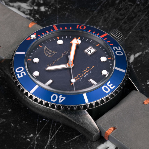 Spinnaker Wreck Automatic Grey Blue (SP-5051-01)