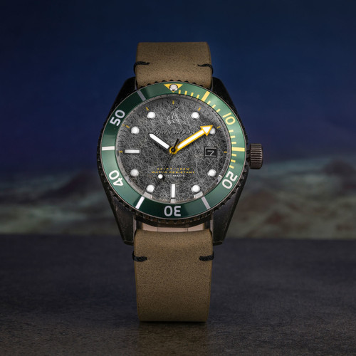 Spinnaker Wreck Automatic Brown Green (SP-5051-03)