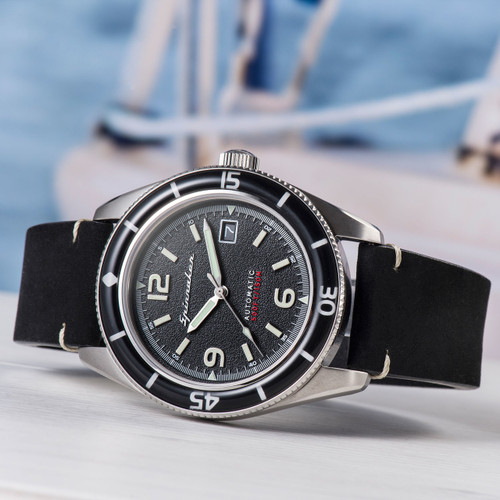 Spinnaker FLEUSS Automatic Black Silver (SP-5055-02)