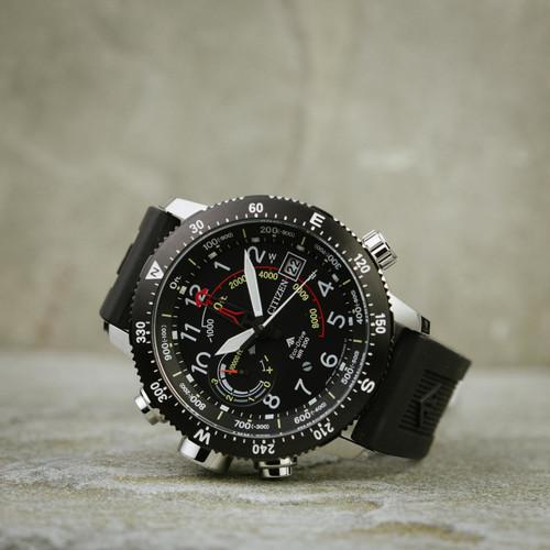 86c95fd834c ... Citizen Eco-Drive Promaster Altichron Black Silver (BN5058-07E) ...