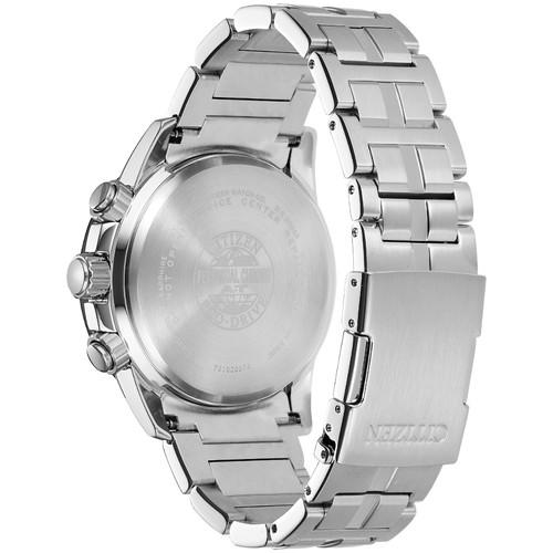 Citizen Eco-Drive PCAT Steel Silver Black (AT4129-57H)