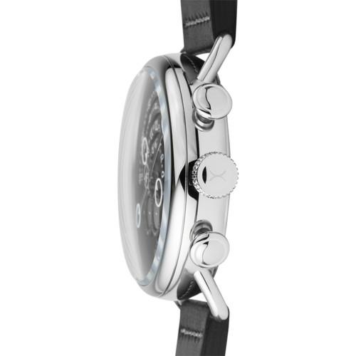 Xeric Halograph Chrono Sapphire Silver Black (HCS-3014)