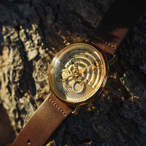 Xeric Halograph Chrono Sapphire Gold (HCS-3020)