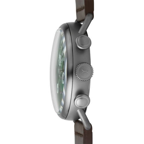 Xeric Halograph Chrono Sapphire Gunmetal Green (HCS-3021)