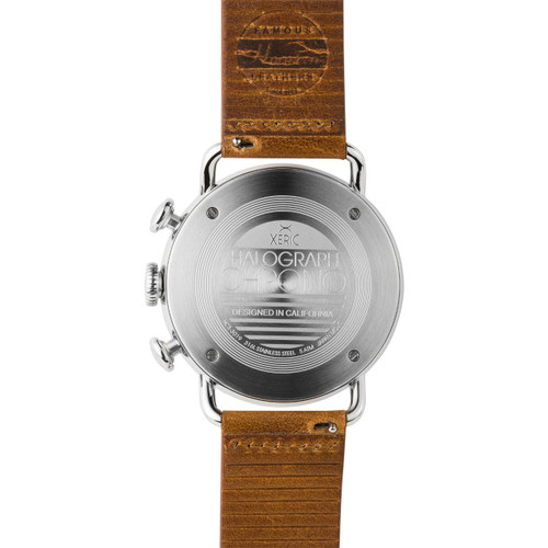 Xeric Halograph Chrono Sapphire Silver Navy (HCS-3019)