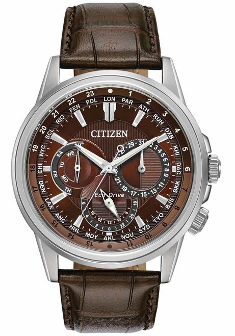 Citizen Eco-Drive Calendrier Chrono Brown (BU2020-29X)