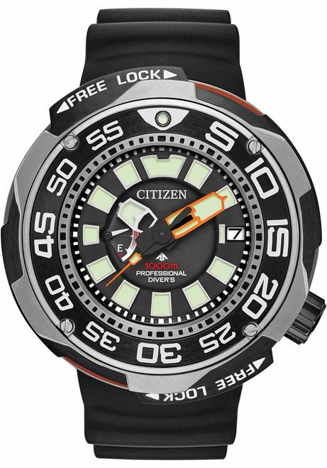 Citizen Eco-Drive Promaster 1000m Professional Diver Sport Silver Black (BN7020-17E)