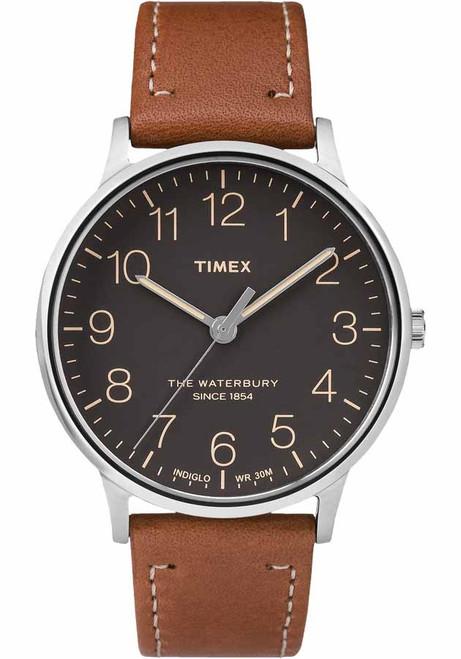 Timex Waterbury Classic Black Tan (TW2P95800)
