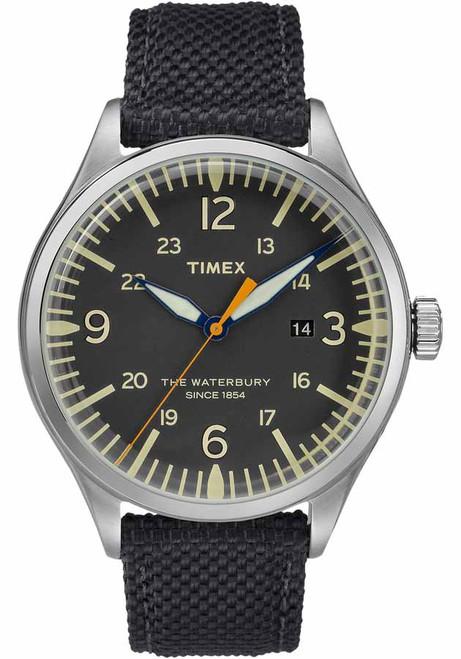 Timex Waterbury Traditional Silver Black Fabric (TW2R38500)