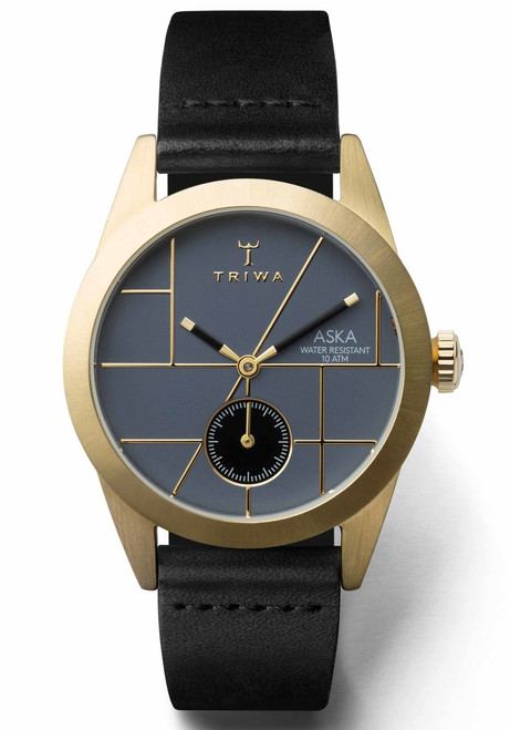Triwa Blues Aska Black Gold Super Slim Limited Edition (AKST105-SS010113)