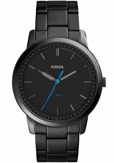 Fossil Minimalist Slim Black Stainless Steel (FS5308)
