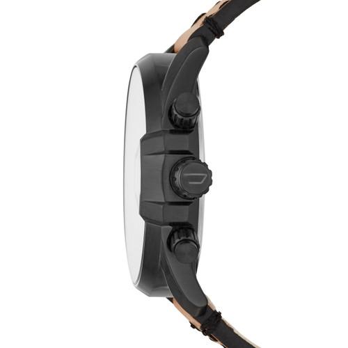 Diesel DZ4471 MS9 Chrono Iridescent Black Tan