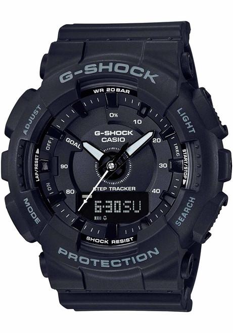 G-Shock GMAS130 S Series Black (GMAS130-1A)