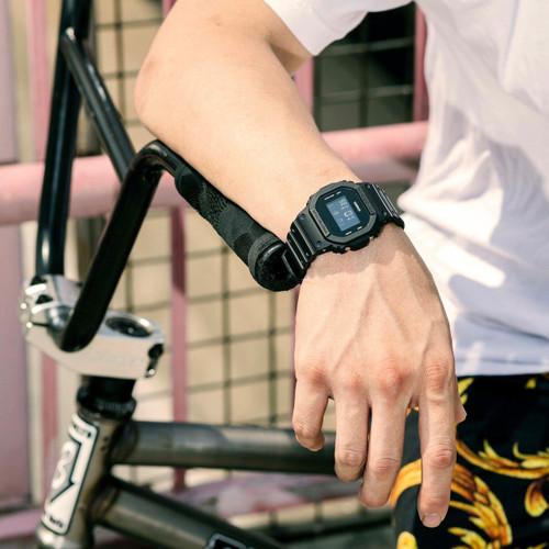G-Shock DW5600BB Black (DW5600BB-1) wrist 1