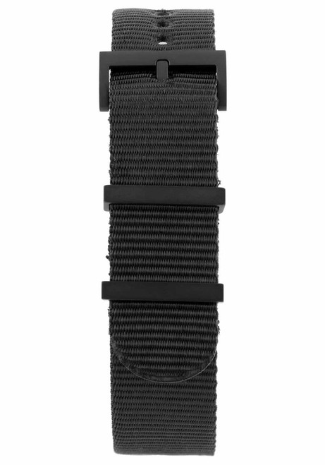 Minus-8 Anza All Black Strap (P024-017-Strap-B)
