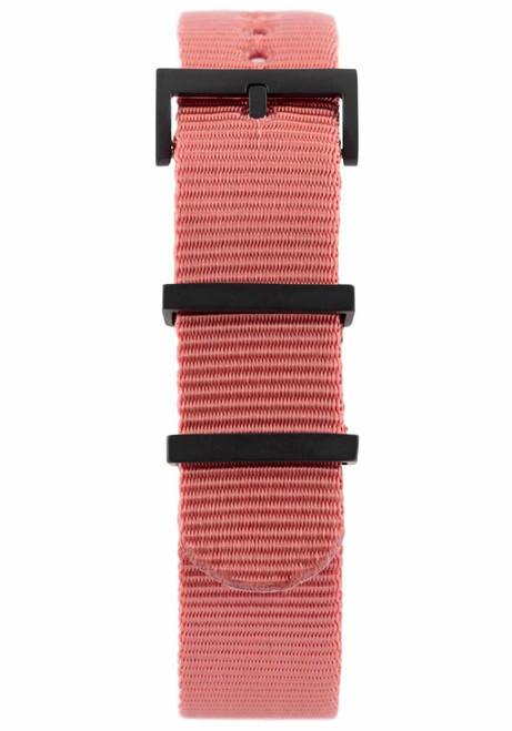 Minus-8 Anza Black Washed Red Strap (P024-017-Strap-R)