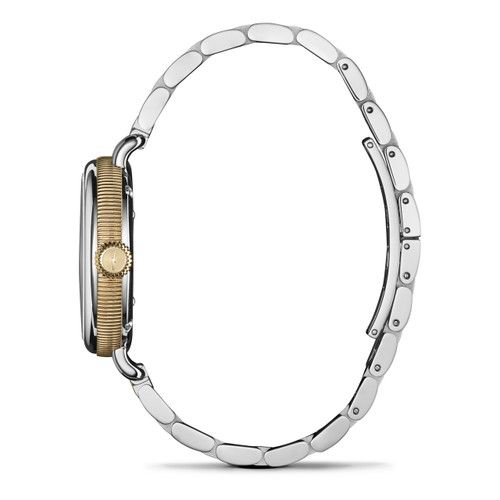 Shinola Birdy 34mm Silver Gold Mother of Pearl (S0120077932)