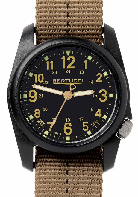 Bertucci DX3 Plus Field Black Khaki (11041)