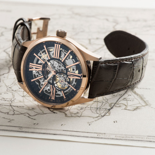 Thomas Earnshaw Armagh Automatic Rose Gold Brown (ES-8037-05)