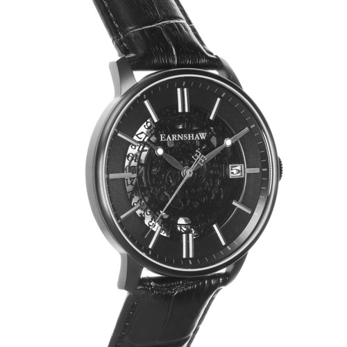 Thomas Earnshaw Vancouver Skeleton Automatic Black (ES-8075-05)