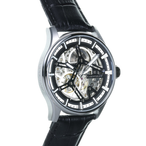 Thomas Earnshaw Beagle Automatic Woolwich Edition Silver Black (ES-8076-01)