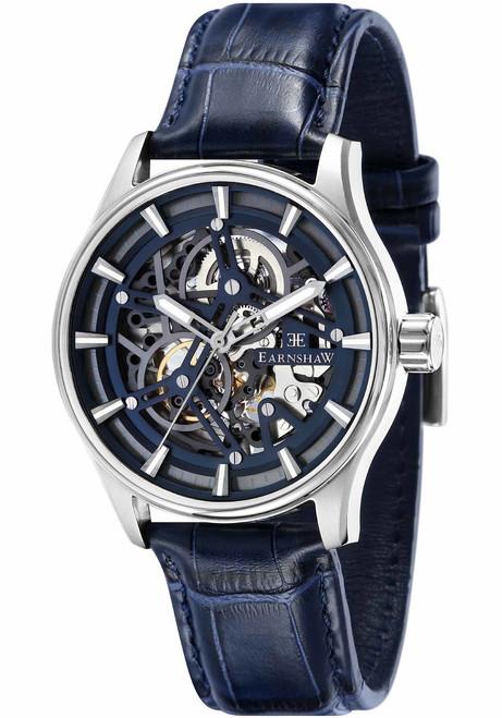 Thomas Earnshaw Beagle Automatic Woolwich Edition Silver Blue (ES-8076-02)