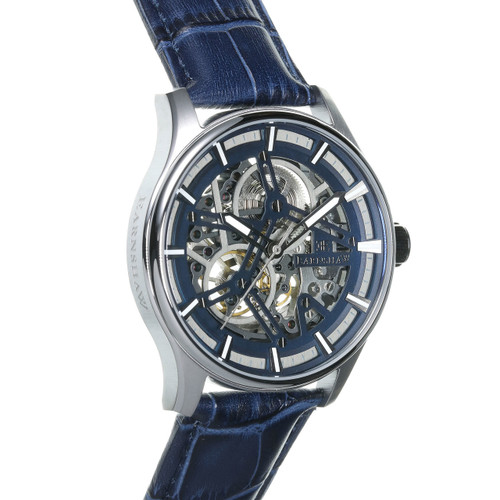 Thomas Earnshaw Beagle Automatic Woolwich Edition Silver Blue (ES-8076-02)