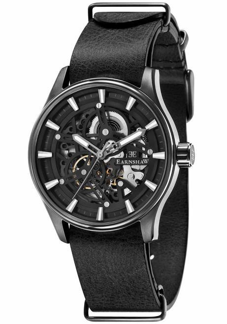 Thomas Earnshaw Beagle Automatic Woolwich Edition Black (ES-8076-06)