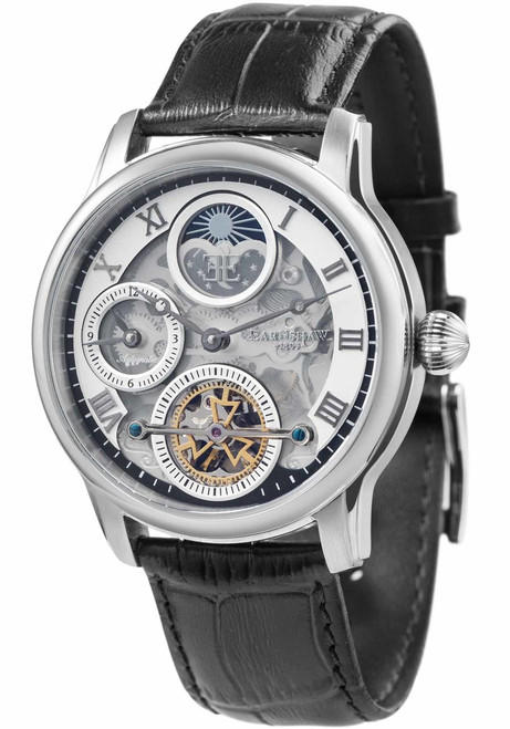 Thomas Earnshaw Longitude Shadow Automatic Black Silver (ES-8063-01)