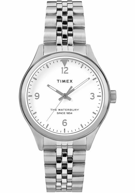Timex Waterbury Classic 34mm Silver SS (TW2R69400)