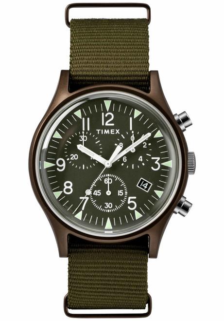Timex MK1 Aluminum Chrono Olive Green (TW2R67800)