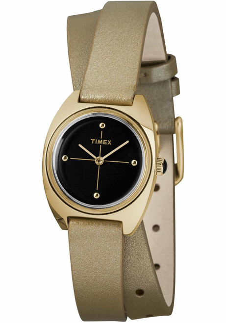 Timex Milano Double Wrap 24mm Gold (TW2R69800)