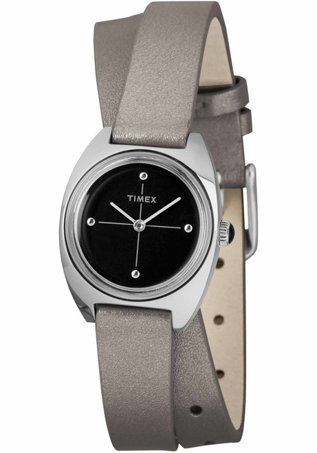 Timex Milano Double Wrap 24mm Silver (TW2R69900)
