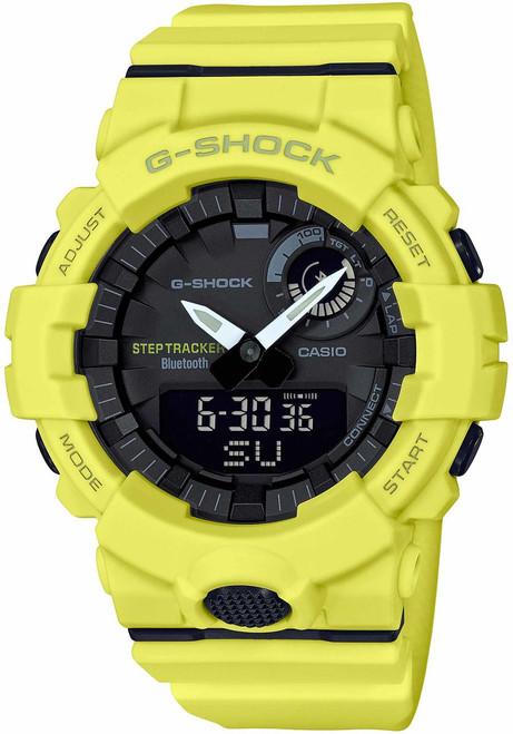 G-Shock GBA800 Bluetooth Step Tracker Training Timer Yellow (GBA800-9A)