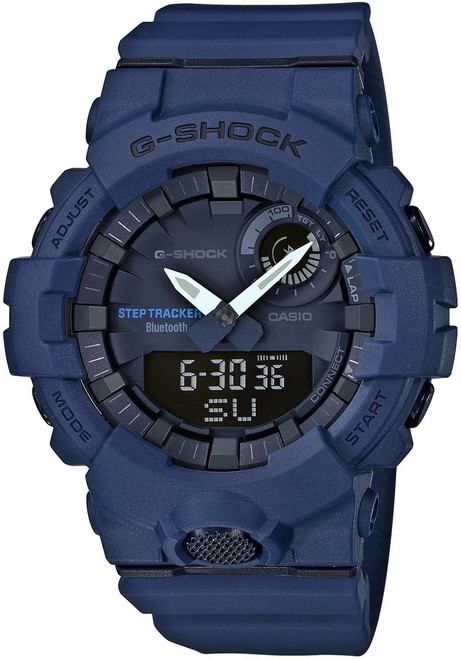 G-Shock GBA800 Bluetooth Step Tracker Training Timer Navy (GBA800-2A)