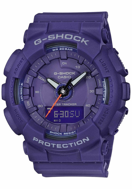 G-Shock GMAS130VC S-Series Step Tracker Purple (GMAS130VC-2A)