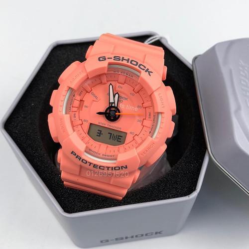 G-Shock GMAS130VC S-Series Step Tracker Coral